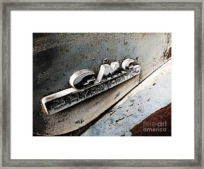 Old Gmc Framed Print by Kimberly Maiden