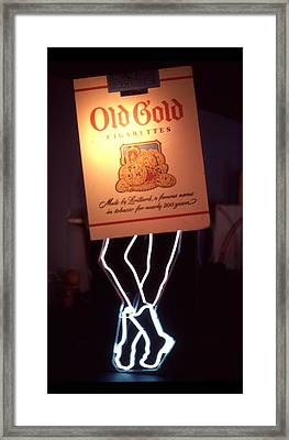 Old Gold Dancing Pack Framed Print by Pacifico Palumbo