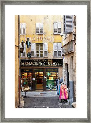 Old Grasse Framed Print
