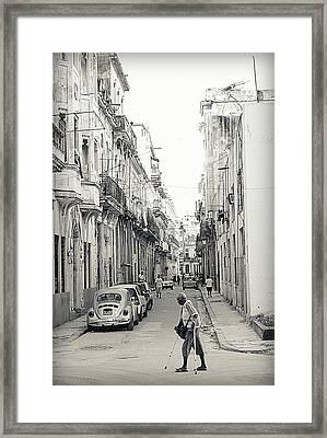Old Habana Framed Print