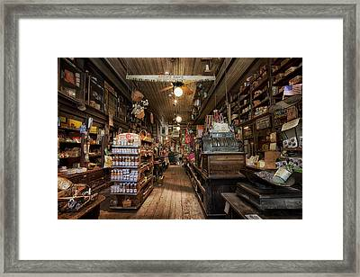 Old Hardware Store Framed Print