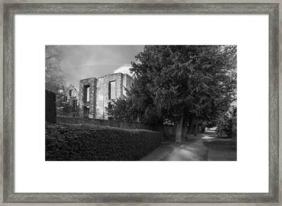 Old Hardwick Hall Framed Print by Moments In Time Photography