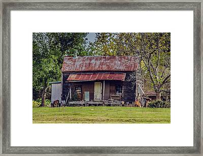 Old Haus Framed Print by Kelly Kitchens