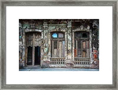 Old Havana House Framed Print