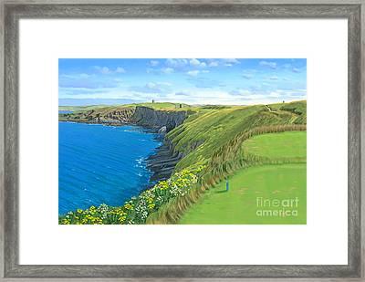 Old Head Golf Club Ireland Framed Print