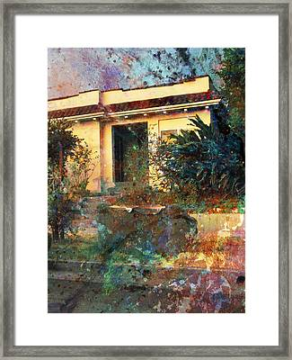 Framed Print featuring the photograph Old Home Art  by John Fish