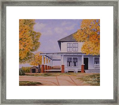 Old Home Place Framed Print by Susan Williams