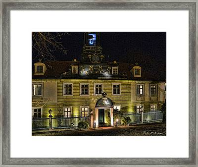 Old Hotel Framed Print