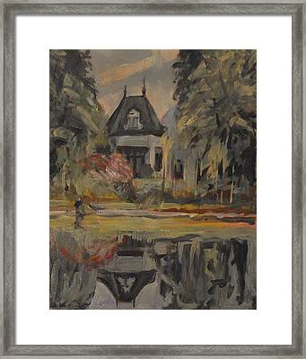 Old House Along The Bredaseweg Framed Print
