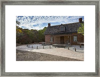 Old House At Bill Baggs Framed Print by Eyzen Medina