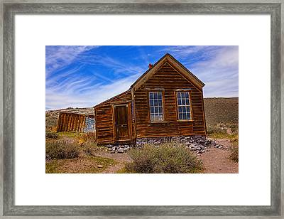 Old House Bodie Framed Print by Garry Gay