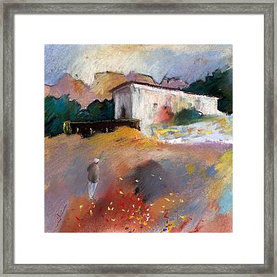 Old House In Altea La Vieja 01 Framed Print by Miki De Goodaboom