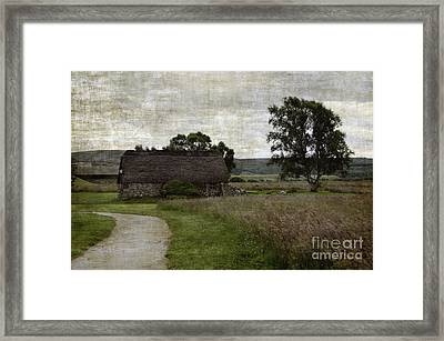 Old House In Culloden Battlefield Framed Print by RicardMN Photography