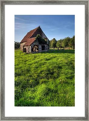 Old House In Summer  Framed Print by Ioan Panaite