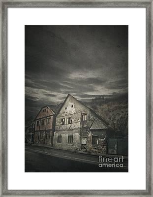 Old House Framed Print by Jelena Jovanovic