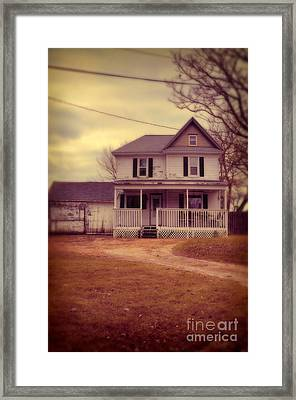 Old House Framed Print by Jill Battaglia
