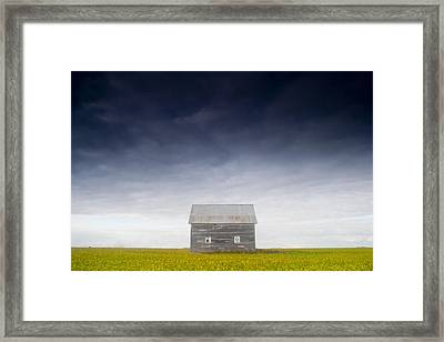 Old House, Manitoba, Canada Framed Print