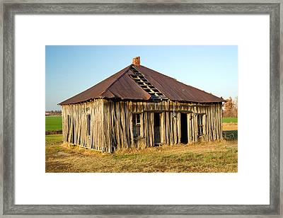 Old House Place Arkansas 2 Framed Print by Douglas Barnett