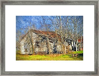 Old House Framed Print by Savannah Gibbs
