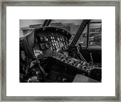 Old Huey Framed Print