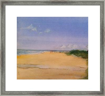 Old Hunstanton Beach Framed Print