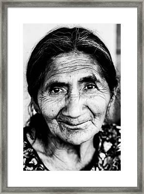 Abuelita Framed Print by Parker Cunningham