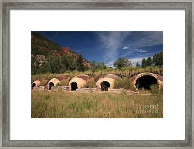 Old Industrial Colorado Framed Print by Adam Jewell