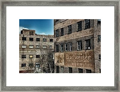 Old Industry Framed Print by Brandon Addis