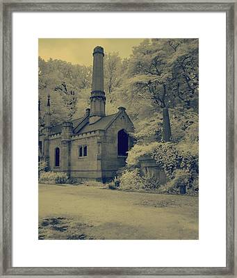 Old Infrared Framed Print by Gothicrow Images