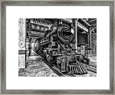 Old Iron Horse Framed Print