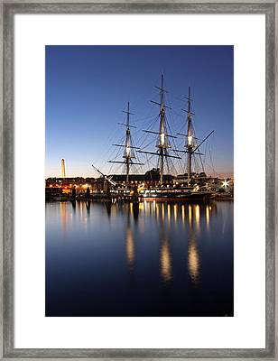 Old Ironsides Framed Print by Juergen Roth
