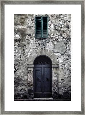 Old Italian House Framed Print by Joana Kruse