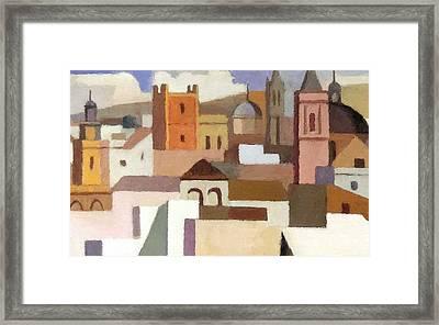 Old Jerusalem Framed Print