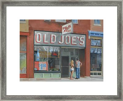 Old Joe's Framed Print by Todd Baxter