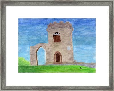 Old John - Bradgate Park Framed Print by Bav Patel
