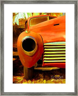 Old Junker Framed Print by Edward Fielding
