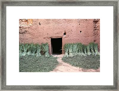 Old Kasbah Entrance Framed Print