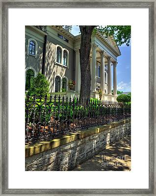 Old Kentucky Homes 1 Framed Print by Mel Steinhauer