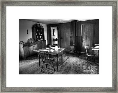 Old Kitchen Framed Print by Kathleen Struckle