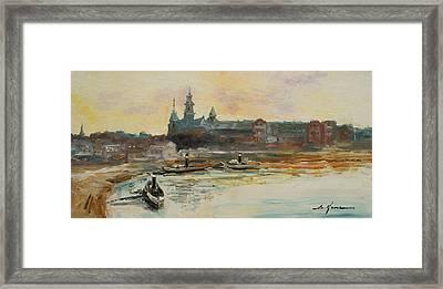 Old Krakow Framed Print