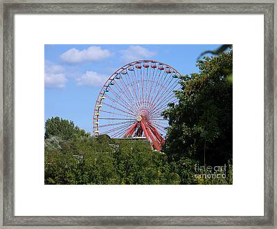 Framed Print featuring the photograph Old Leisure Park Planterwald by Art Photography