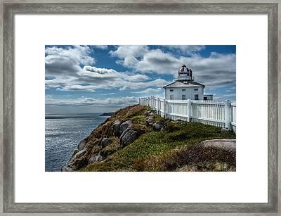 Old Light House Framed Print