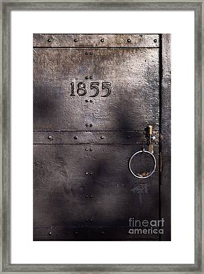 Old Lighthouse Door Framed Print by Eyzen M Kim