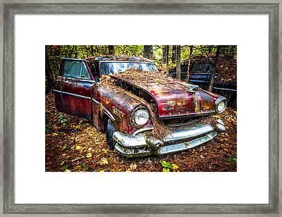 Old Lincoln Framed Print by Debra and Dave Vanderlaan