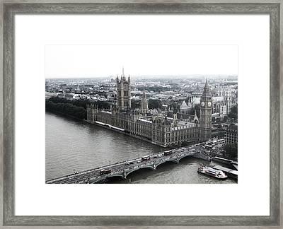 Old London .. New London Framed Print