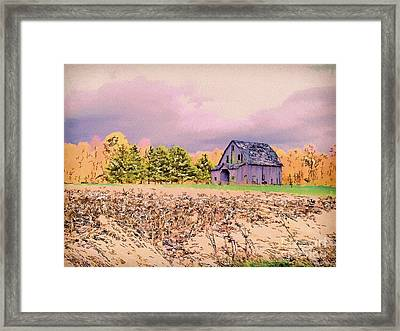 Old Lonely Too Framed Print