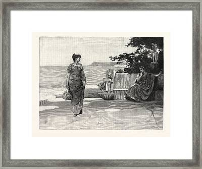 Old Love Renewed Framed Print by English School