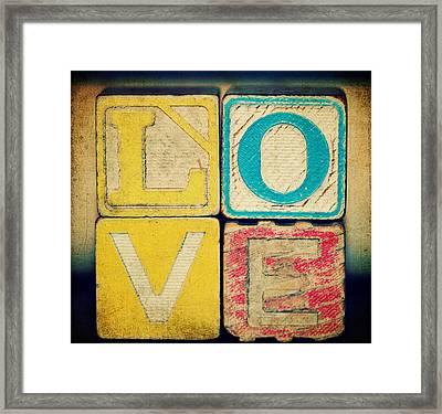 Old Love Framed Print