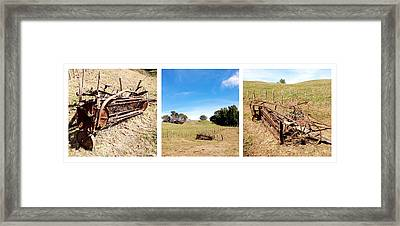 Old Machine Framed Print by Les Cunliffe