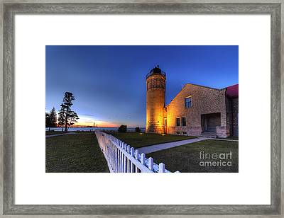 Old Mackinac Lighthouse Framed Print